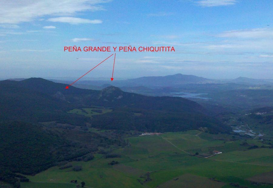 001 Peña Grande desde Etxauri